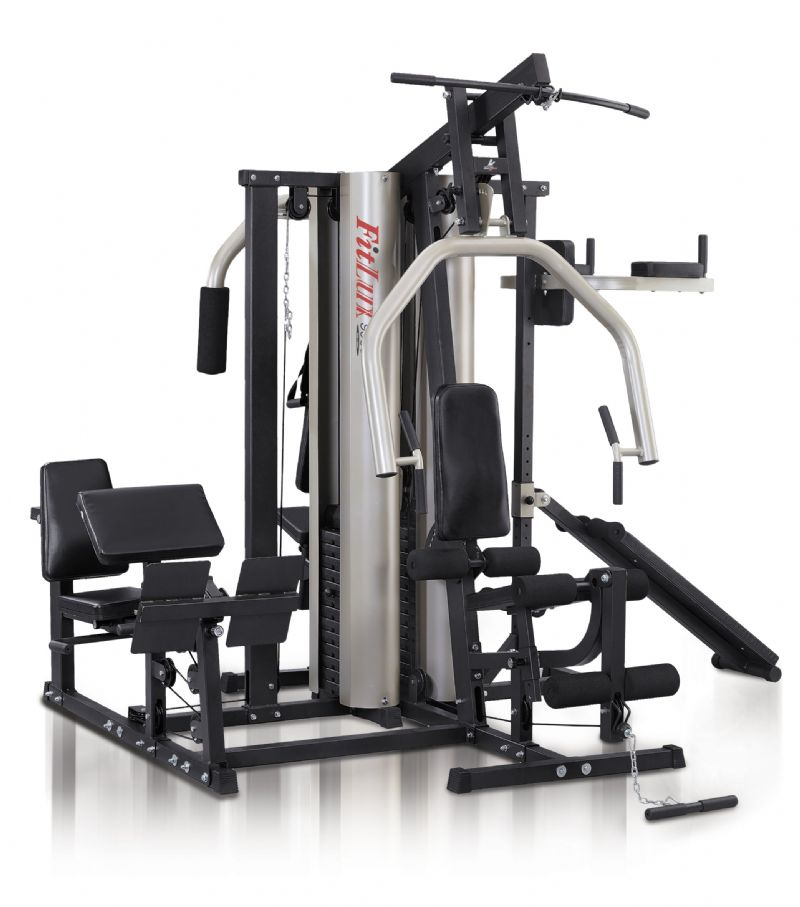 Lbs fitlux semi commercial multi gym jk fitness